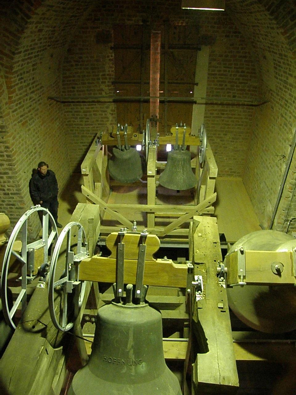Die vier alten Paul-Gerhardter Glocken, Foto: privat